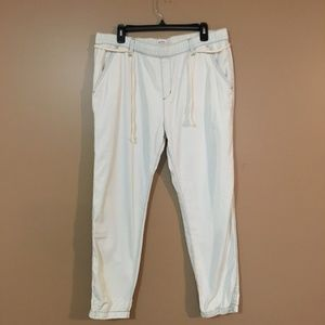 Roxy Light Blue Jeans Joggers Stretch Waist XL
